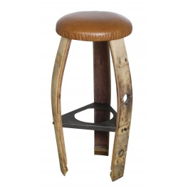 Bistrot Stool, Leather