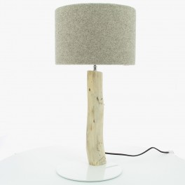 Gypaète Lamp, Grey Wool