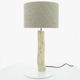 Lampe Gypaète Laine Taupe