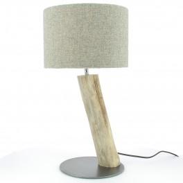 "Gypaète Lamp, ""gris falaise"" Wool"
