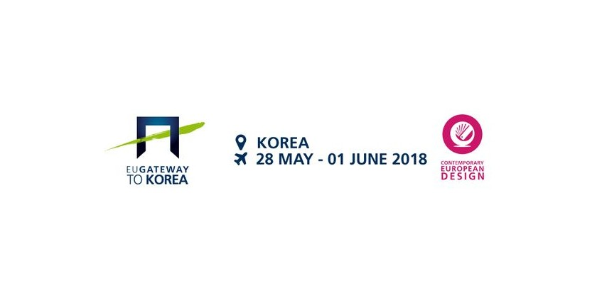 CONTEMPORARY EUROPEAN DESIGN | EUGATEWAY KOREA 28mai- 1er juin 2018